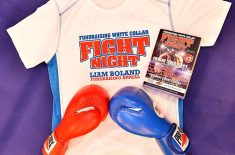 White Collar Fight Night in Aid of Liam Boland